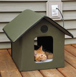 Outdoor Cat Shelter Options Insulated Heated Feral Cat House Ideas