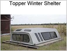 Camper Topper Winter Shelter